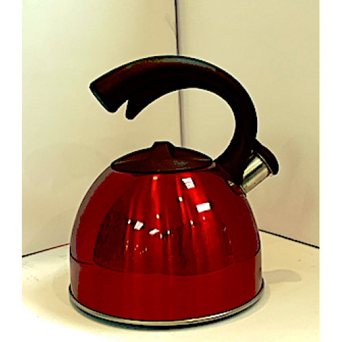 3L Whistle Tea Kettle Red