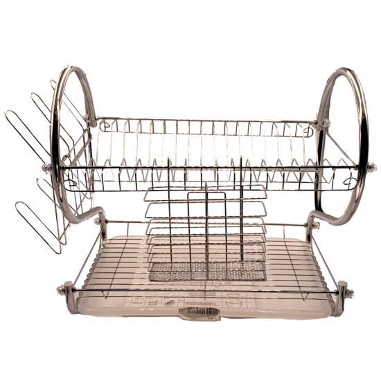 "2 Tier S Shaped 22"" Dish rack"
