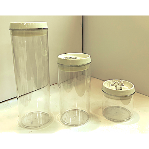 3PC Flip Tite RD Canisters