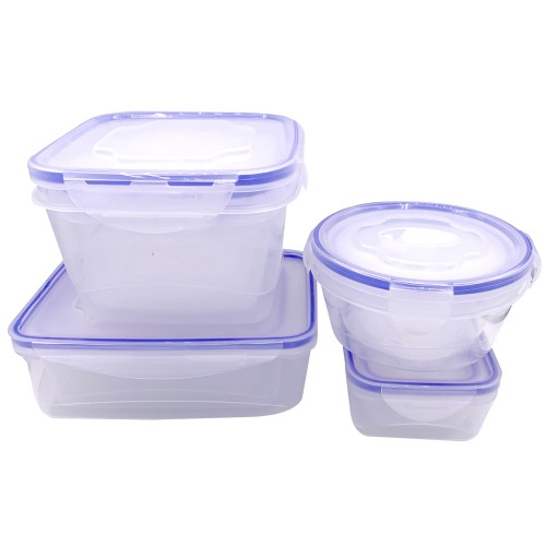 24PC Storage Container Set Blue