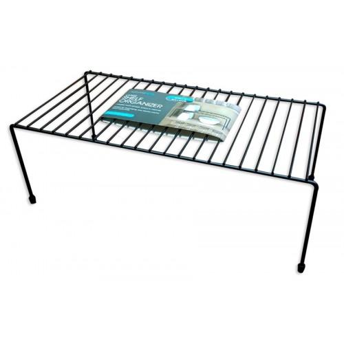 foldable wire kitchen rack black