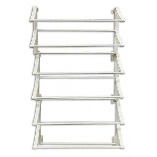 30 pair old shoe rack white