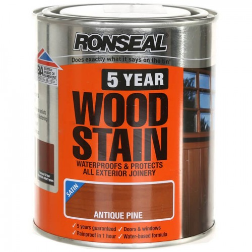 5 year wood stain antique pine 750ml