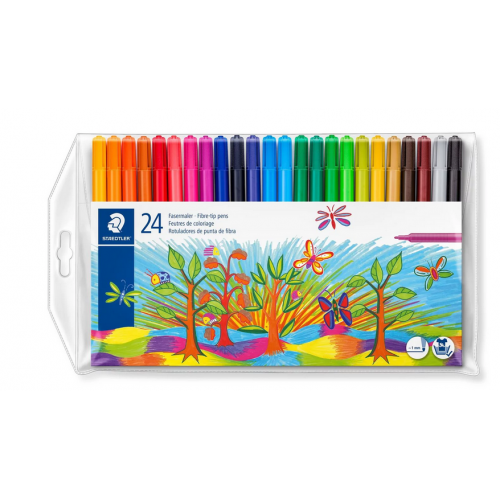 Colour markers 24pk