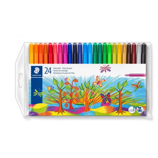 Colour markers 24pk