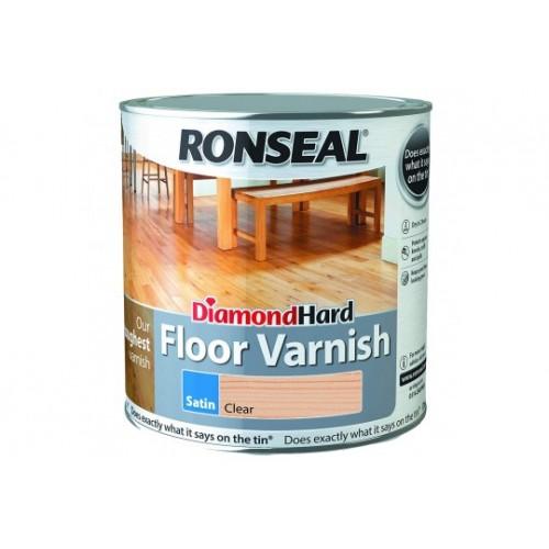 Floor Varnish Satin clear 2.5L