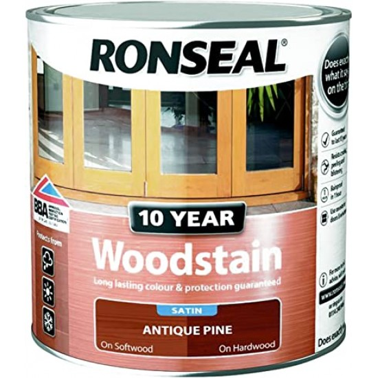 10 Year Woodstain Antique Pine 2.5L