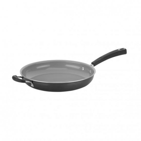 "12"" OPEN SKILLET WITH HELPER"