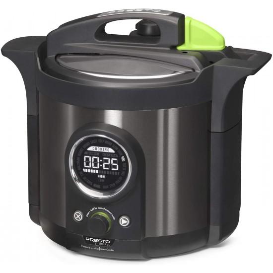 6-quart Multi-use Electric Pressure Cooker Plus