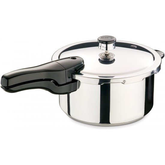 Stainless Steel Pressure Cooker 4 Quart