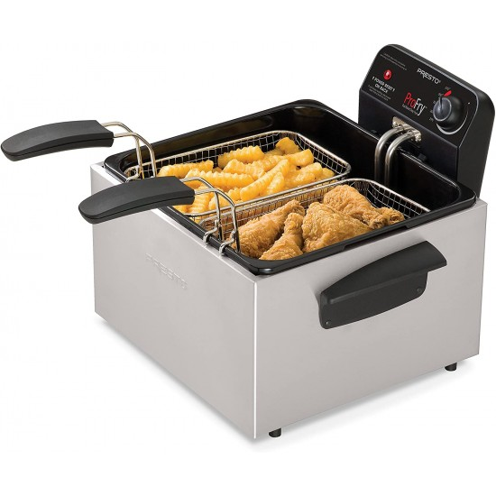 Dual Basket ProFry™ immersion element deep fryer