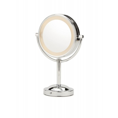 Conair Double-Sided Battery Operated Lighted Makeup Mirror