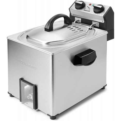 Extra-Large Rotisserie Deep Fryer, Silver