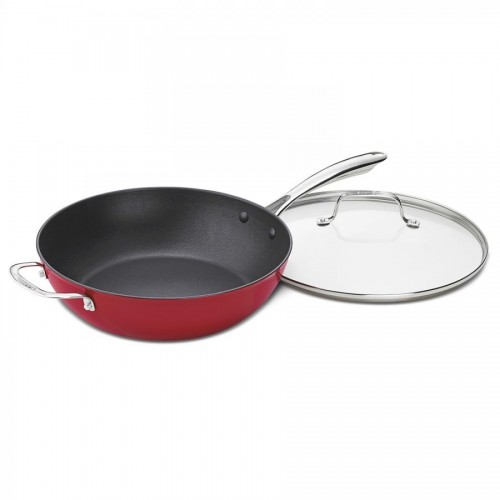 4.5 QUART CHEF'S PAN WITH HELPER HANDLE & COVER