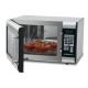 1-Cubic-Foot Stainless Steel Microwave Oven