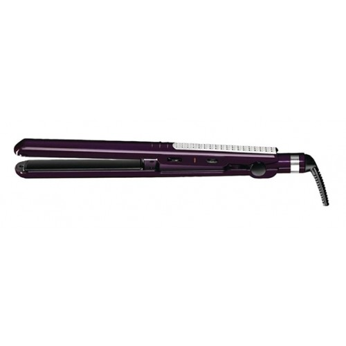 1-inch Tourmaline Ceramic Flat Iron - Purple