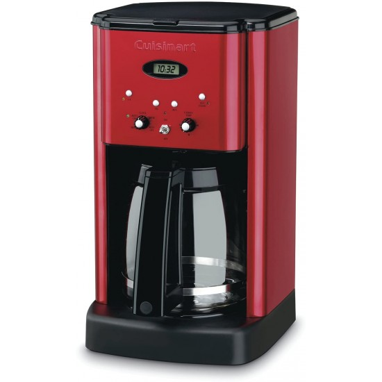 12 Cup Brew Central Coffee Maker, Metallic Red