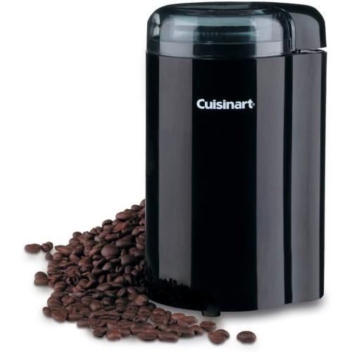 Coffee Grinder, 4 x 4 x 7 inches, BLACK
