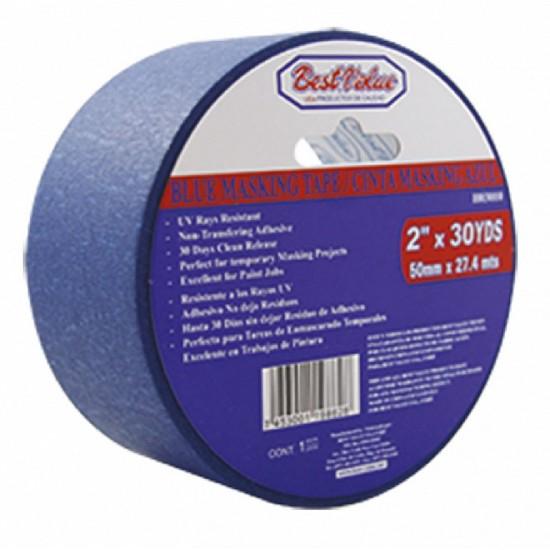 "11/2"" x 30yds blue masking tape"