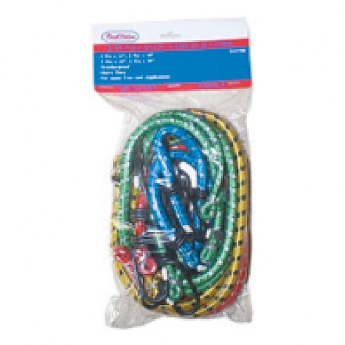 assorted bungee cords 8pcs