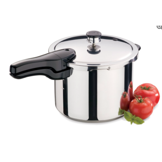 6 Quart Stainless Steel Pressure Cooker