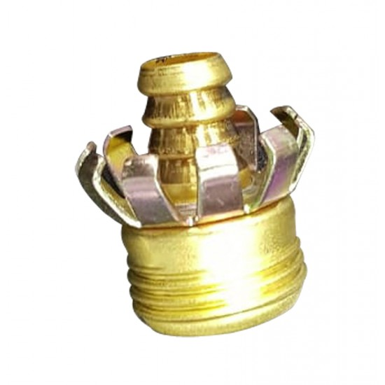 "1/2"" Male Metal Coupling"