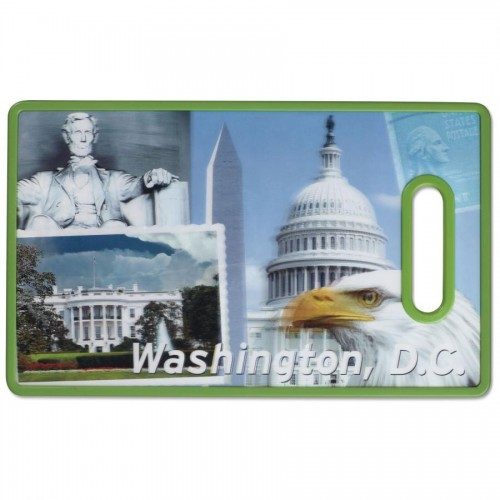 3D WASHINGTON, D.C. CUTTING BOARD