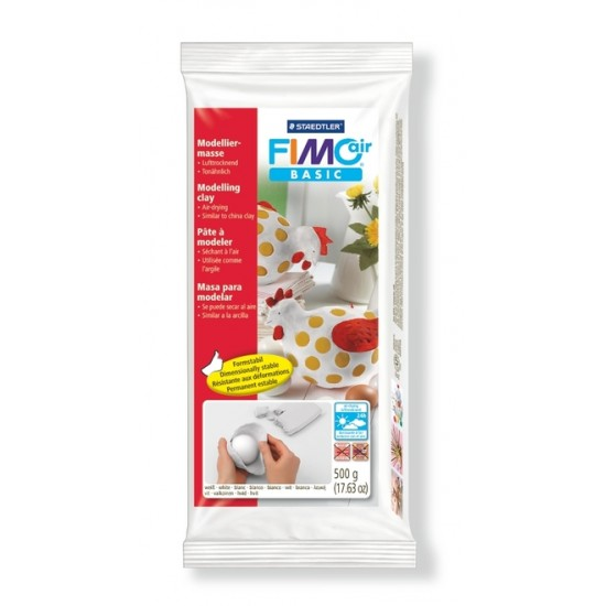 Basic clay: White