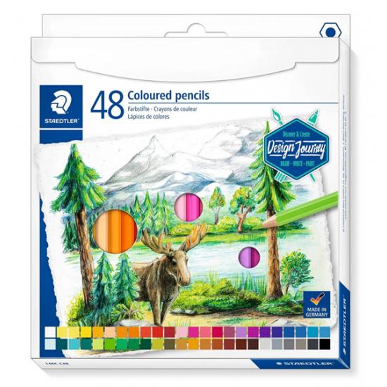 48 Colour pencils
