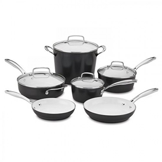 "10 Piece Elements Pro Induction Non-Stick Set, 14.62""."