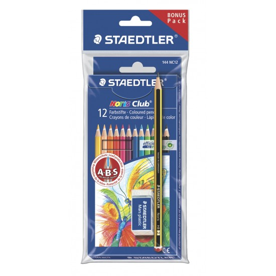 Colouring pencil wallet bonus pack
