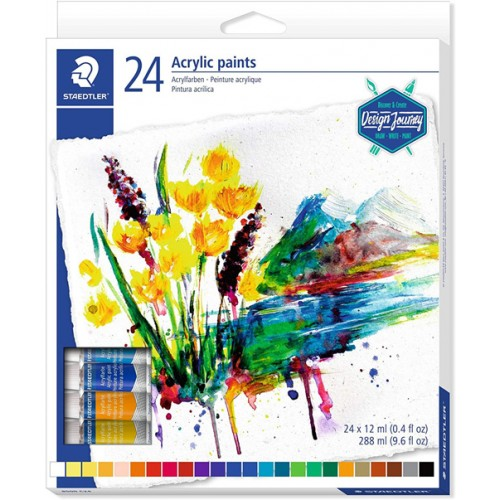 24 Acrylic paints