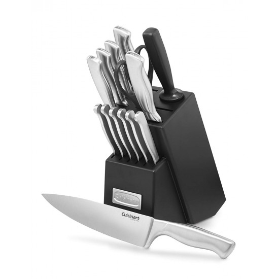 15-Piece Stainless Steel Hollow Handle Block Set. FREE delivery with every online credit card purchase