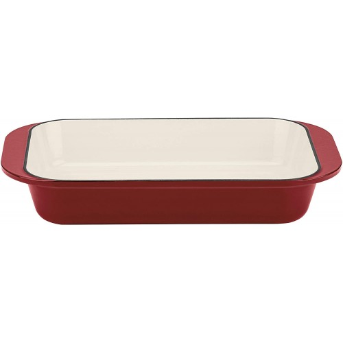 """CHEF'S CLASSIC™ ENAMELED CAST IRON COOKWARE 14"""" ROASTING/LASAGNA PAN"""