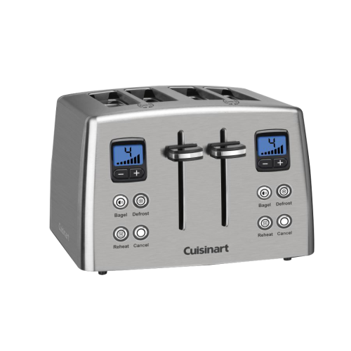Countdown 4-Slice Stainless Steel Toaster