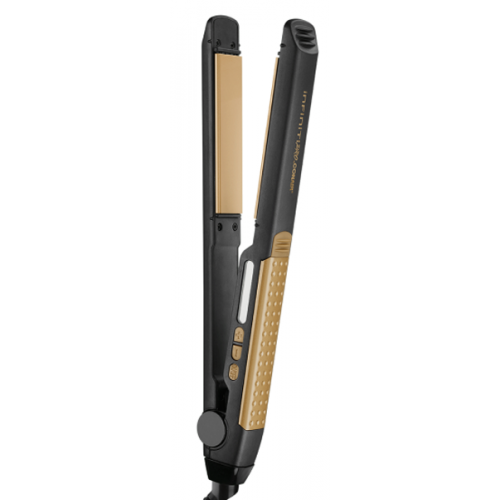 GOLD 1-inch Tourmaline Ceramic Flat Iron FREE delivery with every online credit card purchase