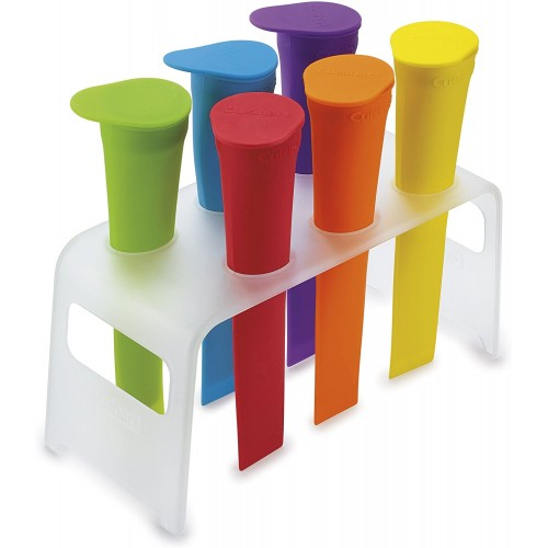 Ice Pop Molds with Tray, Multicolor
