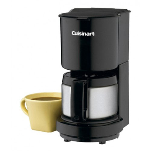 4-Cup Coffeemaker with Stainless-Steel Carafe.