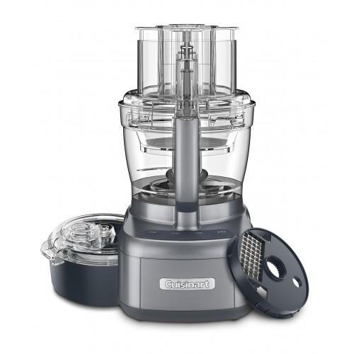 Elemental 13 Cup Food Processor and Dicing Kit, Gunmetal