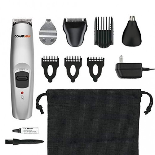 All-In-1 Trimmer, Cordless/Rechargeable Beard and Mustache Trimmer