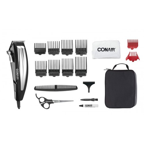 Fast Cut Pro High Performance Hair Clipper with Light, Professional Haircutting Kit, Home Hair Cutting Kit