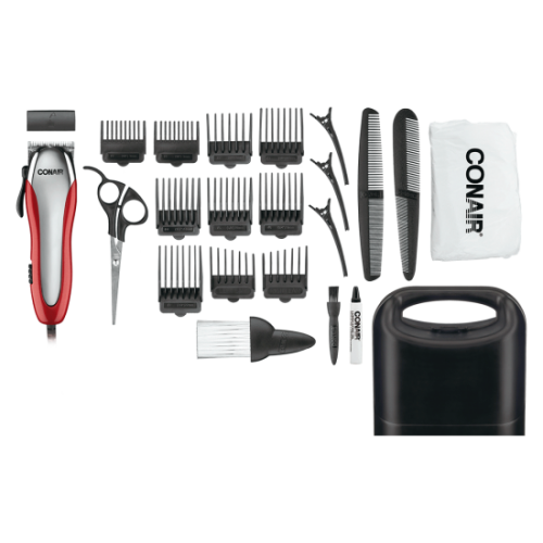 Ultra Cut 23-Piece Haircut Kit with Detachable Blades