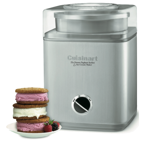 2 Quart Frozen  Yogurt-Sorbet &  Ice Cream Maker