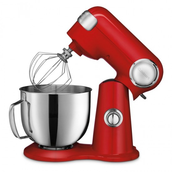 5.5-Quart Stand Mixer, Ruby Red