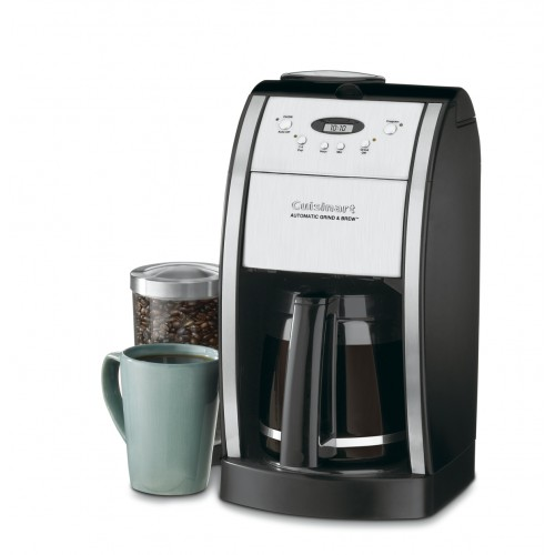 Grind & Brew™ 12 Cup Automatic Coffeemaker with Brushed Metal Italian Styling