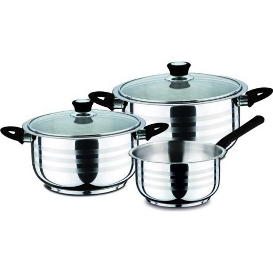 5 piece cookware black